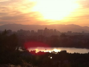Sunset from Jingshan