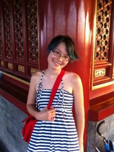 Sonya at Jingshan